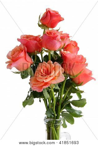 posy of roses