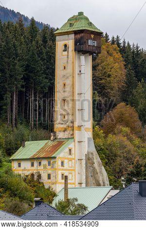 Old mining tower, Arnoldstein, Land of Carinthia, Austria
