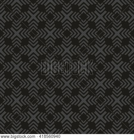 Tile Black And Grey Vector Pattern Or Dark Graphic Background
