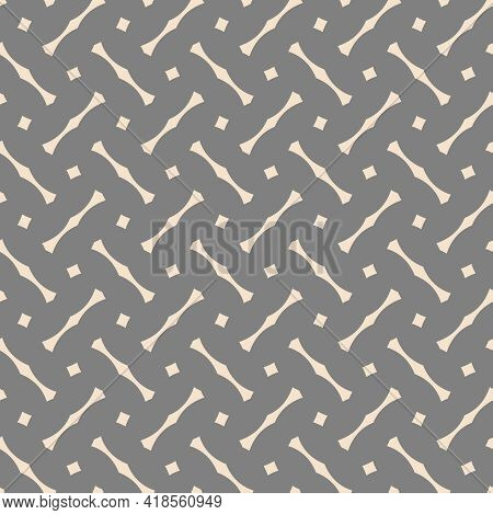 Tile Vector Pattern With Grey And Pink Background Wallpaper