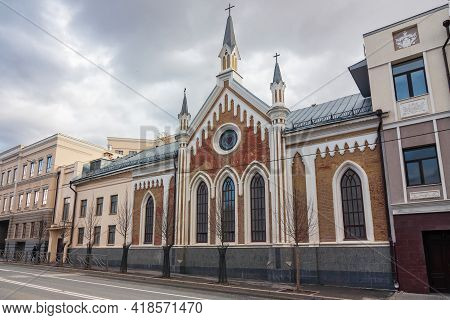 St. Catherines Evangelical Lutheran Church, Kazan, Tatarstan Republic.