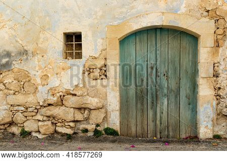 Rustic House In The Colorful Village Of Margarites, Famous For Its Handmade Ceramic, Crete, Greece