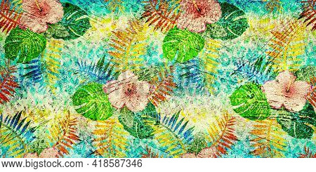 Abstract Grunge Textured Background. Background For Ceramic Tile. Cement Texture
