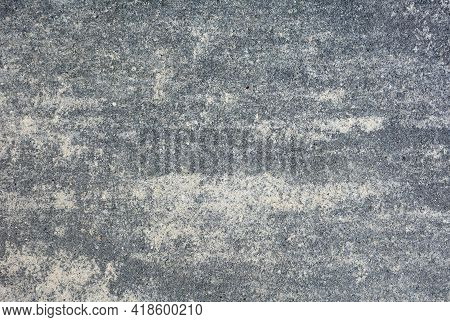 Full Frame Background Of Gray Concrete Tile. Surface With Texture Of Gray Concrete Tile.