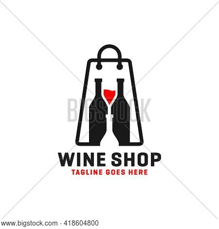Wine Or Liquor Store Logo Design Or Your Brand
