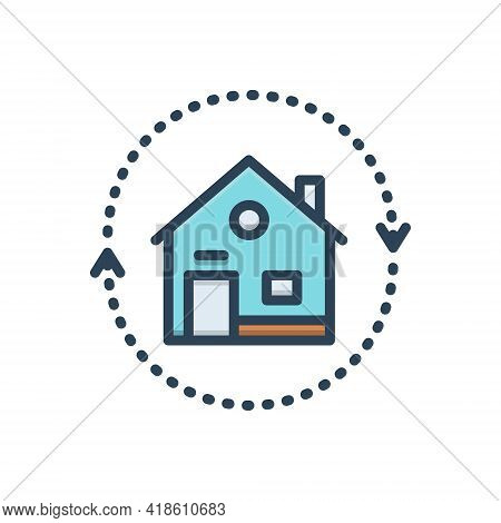 Color Illustration Icon For Reverse-mortgages Reverse Mortgages Change Retirement Equity