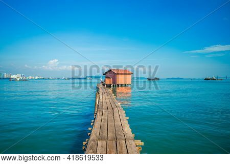 Tan Jetty, One Of Clan Jetties At George City, Penang, Malaysia