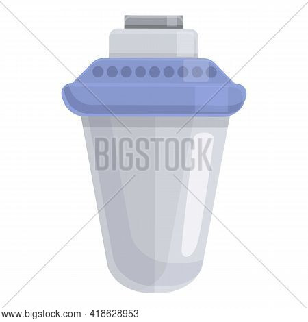 Modern Water Filter Icon. Cartoon Of Modern Water Filter Vector Icon For Web Design Isolated On Whit