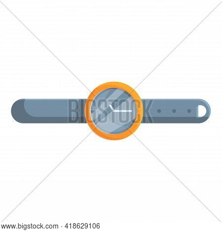Hiking Handwatch Icon. Cartoon Of Hiking Handwatch Vector Icon For Web Design Isolated On White Back