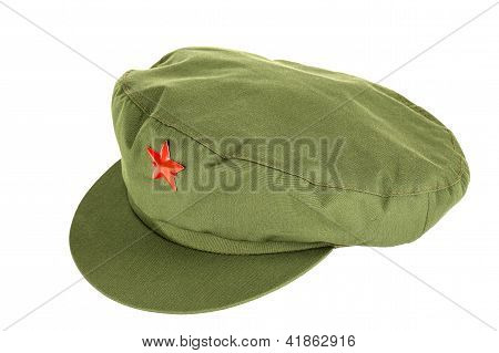 Chinese Red Star Cap