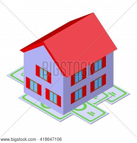 Home Purchase History Icon. Isometric Of Home Purchase History Vector Icon For Web Design Isolated O