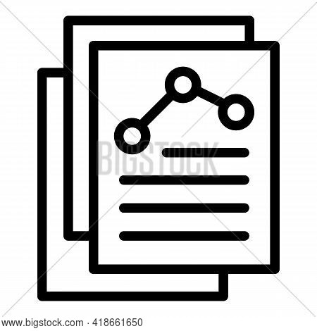 Liability Scheme Icon. Outline Liability Scheme Vector Icon For Web Design Isolated On White Backgro