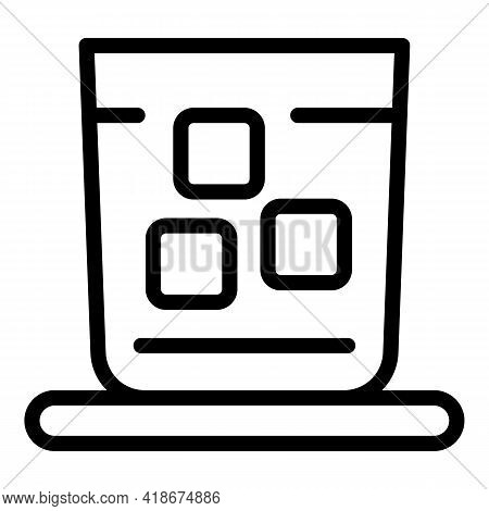 Club Cocktail Icon. Outline Club Cocktail Vector Icon For Web Design Isolated On White Background
