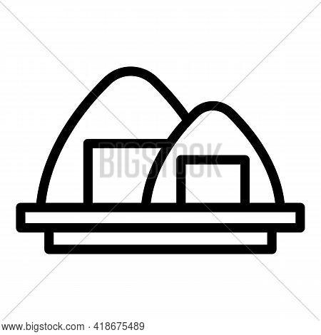 Korean Cuisine Icon. Outline Korean Cuisine Vector Icon For Web Design Isolated On White Background