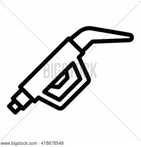 Kerosene Pump Icon. Outline Kerosene Pump Vector Icon For Web Design Isolated On White Background