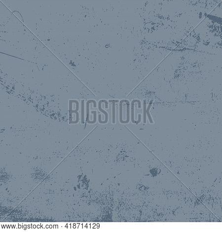 Blue Grunge Square Shape Background For Your Design