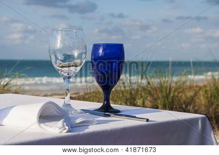 Meal On The Beach