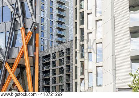 July 2020. London. Architecture Paddington Central London England