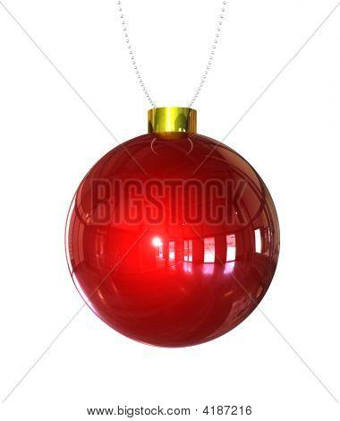Christmas Balll Isolated