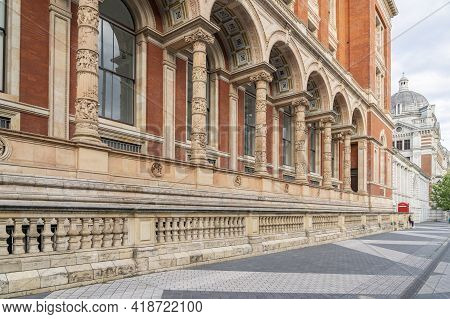 July 2020. London. Victoria And Albert Or V And A Museum, London, England