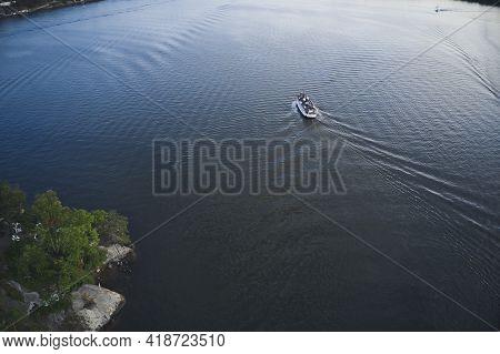 Fjaderholmarna Island, Sweden - June 13, 2020. Fjaderholmarna Island In The Archipelago Of Stockholm