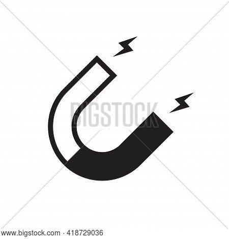 Magnet Icon Vector For Graphic Design, Logo, Web Site, Social Media, Mobile App, Ui Illustration
