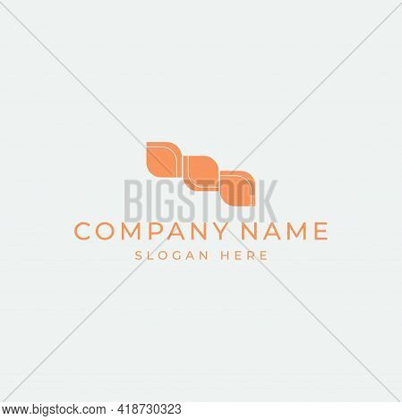Abstract Logo For A Company, Business Center Or Hotel. Symbol, Company Sign. Vector Image.