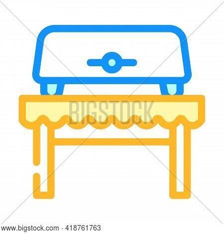 Bread Toaster Equipment Color Icon Vector. Bread Toaster Equipment Sign. Isolated Symbol Illustratio