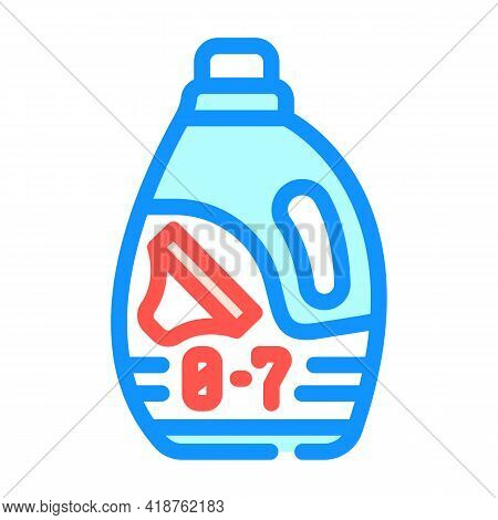 Baby Powder Detergent Color Icon Vector. Baby Powder Detergent Sign. Isolated Symbol Illustration
