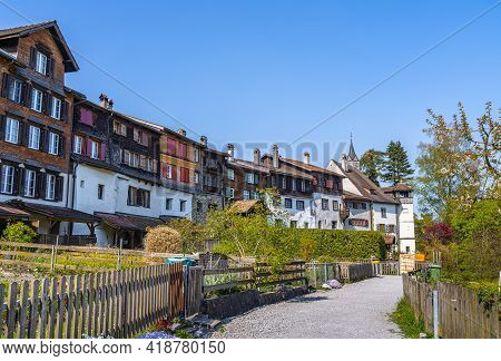 Werdenberg Is A Town With Historical Town Charter In The Eastern Swiss Canton Of St. Gallen. It Is T