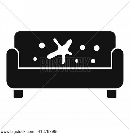 Sofa Dry Cleaning Icon. Simple Illustration Of Sofa Dry Cleaning Vector Icon For Web Design Isolated