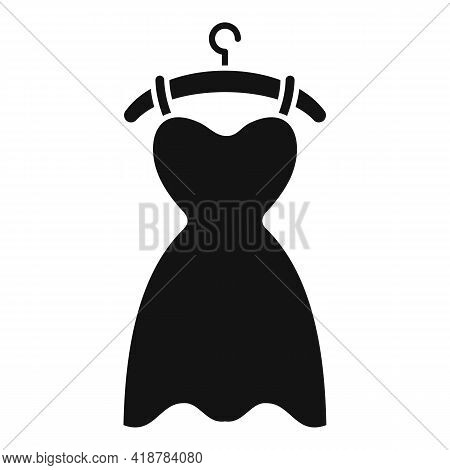 Dress Dry Cleaning Icon. Simple Illustration Of Dress Dry Cleaning Vector Icon For Web Design Isolat