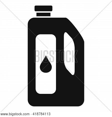 Dry Cleaning Bottle Icon. Simple Illustration Of Dry Cleaning Bottle Vector Icon For Web Design Isol