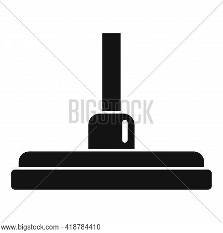 Cleaner Mop Icon. Simple Illustration Of Cleaner Mop Vector Icon For Web Design Isolated On White Ba