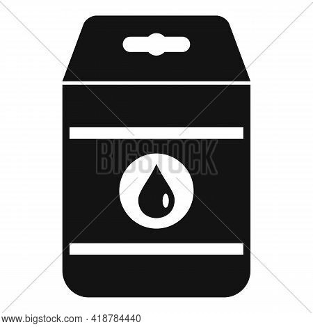 Detergent Pack Icon. Simple Illustration Of Detergent Pack Vector Icon For Web Design Isolated On Wh