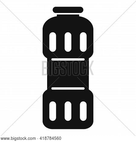 Clean Powder Bottle Icon. Simple Illustration Of Clean Powder Bottle Vector Icon For Web Design Isol