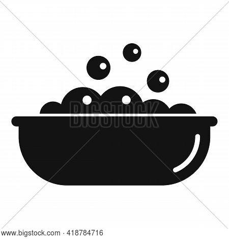Wash Bubble Basin Icon. Simple Illustration Of Wash Bubble Basin Vector Icon For Web Design Isolated