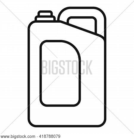 Cleaner Canister Icon. Outline Cleaner Canister Vector Icon For Web Design Isolated On White Backgro