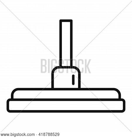Cleaner Mop Icon. Outline Cleaner Mop Vector Icon For Web Design Isolated On White Background