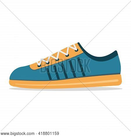 Shoes Sneakers For Sports And Fitness Color Insulated Vector Sneakers