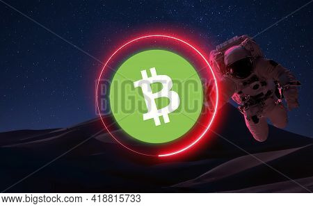Bitcoin Cash Bch Cryptocurrency. Bitcoin Cash Coin Growth Chart On The Exchange, Chart