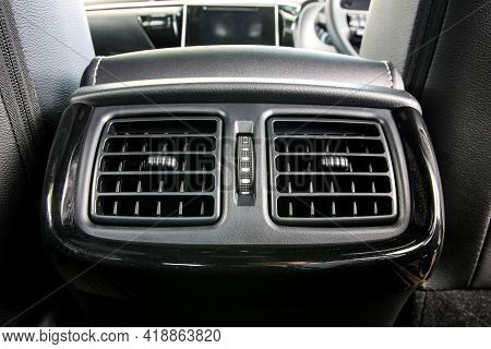 Car Air Conditioning Of The Rear Seat