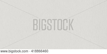 Clean Grey Kraft Cardboard Paper Background Texture. Vintage Cardboard Wallpaper. Horizontal Banner