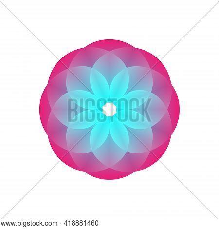Water Lily Lotus Logo Flower Logo - Beauty Spa Flower Symbol Wellness Health Meditation Beauty Luxur