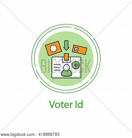 Voting Results Concept Line Icon.election Win, Candidate Result Histogram.vote Percentage.choice, Vo