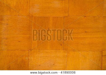 wooden veneered object