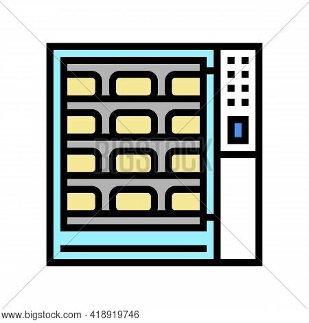 Cooking Cheese Fry Equipment Color Icon Vector. Cooking Cheese Fry Equipment Sign. Isolated Symbol I