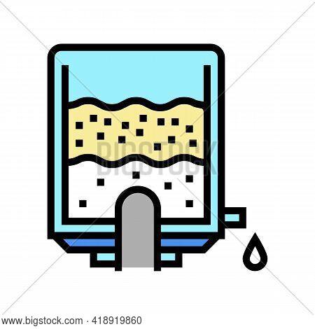 Prepare Concentration Cheese Color Icon Vector. Prepare Concentration Cheese Sign. Isolated Symbol I