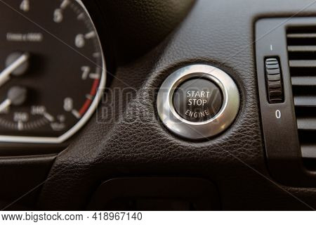 Simple Push Of A Button On The Dashboard Console Can Start The Ignition Of The Car Or Cut The Engine