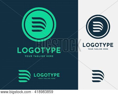 Initial Letter D Modern Logo Design Template. Alphabet D Flat Logotype For Your Business, Corporate,